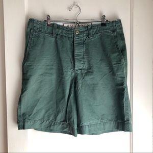Hollister Green Khaki Shorts